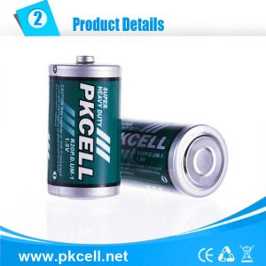 D Battery, Super Heavy Duty,  2/Card      R20P-2