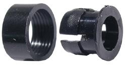 5mm LED Holder, Black, 2pc     55-550-0