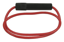 Inline Fuseholder for 3AG Fuse, 12AWG wire        55-820-0