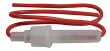 Inline Fuseholder for 3AG Fuse, 18awg Wire                  55-821-0