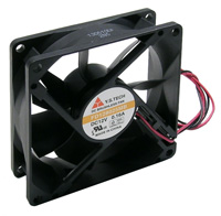 Fan – 12v, 80x80x25mm, 30 dbA, Sleeve        59-285-0