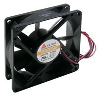 Fan – 12v, 80x80x25mm, 30 dbA, Sleeve        59-285-0
