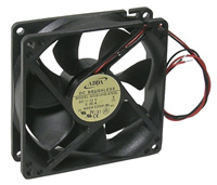 Fan – 12v, 92x92x25mm, 27 dbA, Sleeve        59-294-0