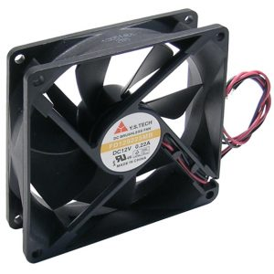 Fan – 12v, 92x92x25mm, 38 dbA, Ball      59-295-0
