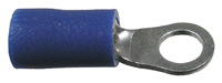 Ring Terminal, Insulated, 16-14 (Blue), 1/2″,  50/pkg       73-049-100
