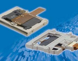 Memory Card Connector, Flex Snap In       C702 10M008 063 4