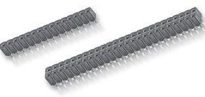8 Pin Low Profile Strip, Single Row, R/A       CES108-02-T-S-RA