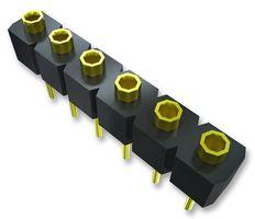 36 Pin Socket Strip, High Temperature Gold      HSS136-G-7