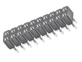 2 x 21 Pin Low Profile Socket Strip                    SLW-121-01-T-D