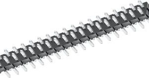 2 x 10 Low Profile Header, Square Post, Double Row    TLW-110-06-T-D