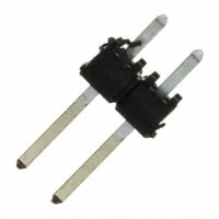 1×2 Pin .025″ Terminal Strip, Square Post, Single Row, Through-Hole        TSW-102-08-S-S