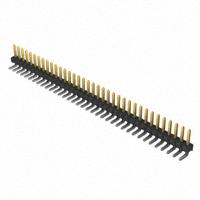 1×36 Pin .025″ Terminal Strip, Square Post, Through-Hole, R/A        TSW-136-08-S-S-RA