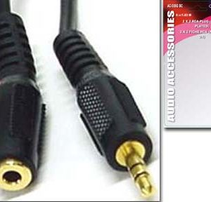 3.5MM STEREO MICROPHONE/EARPHONE EXTENSION CORD MALE TO FEMALE     BTW-108G