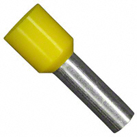 Wire Ferrule, 10awg, Insulated, Yellow   11121060