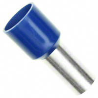 Wire Ferrule, 6awg, Insulated, Blue    11121160