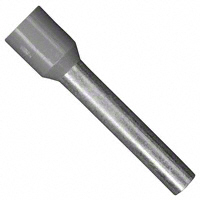 Wire Ferrule, 12awg, Insulated, Gray    11181040