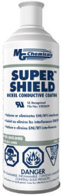 Super Shield Nickel Conductive Coating, Aerosol, 340gm    841-340G