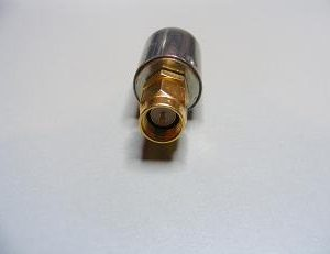 50 Ohm Terminator, Gold Flash, SMA Male    STRM50