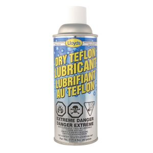 Teflon Lubricant,inert dry film lubricant and release agent,Lloyds 21714