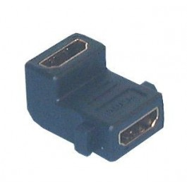 45-7054 Right Angle HDMI Female to Female Adaptor