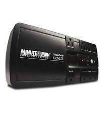 ups550va, Minuteman Ups550va Usb 4-bat/4-surge Outlets – 550 Va/300 W – 120 V Ac – 3