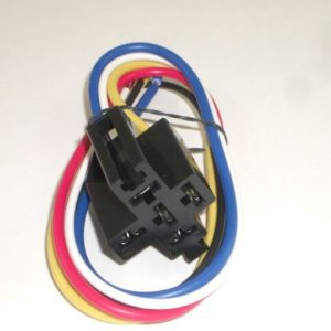 Automotive Relay Socket & Wire Wiring Harness