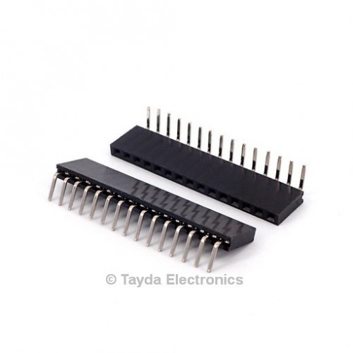 15 Pin Right Angle, PC Mount Header   177005-02