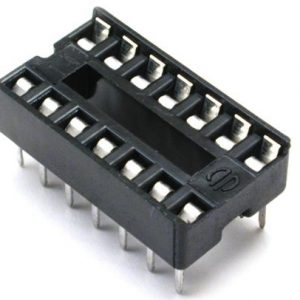 DIP IC Socket 14-Pin