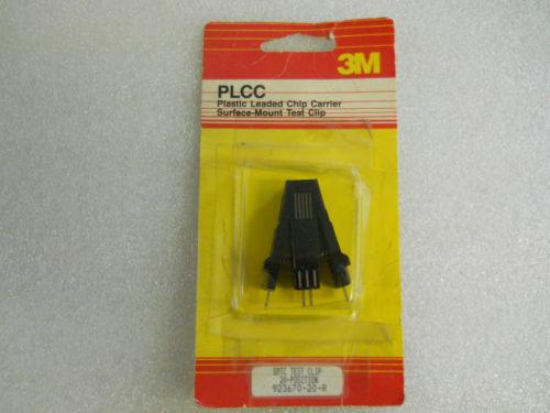 20 Position Test Clip, PLCC .050         923670-20-R