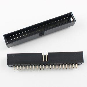 Boxed Header 40-pin straight