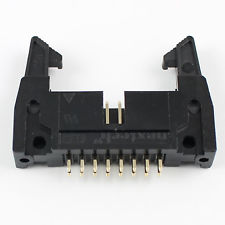 Latch Header 16-pin Straight