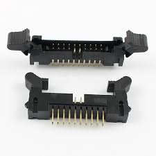 Latch Header 20-pin Straight