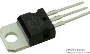 Integrated Circuit 3–Terminal Positive Voltage Regulator