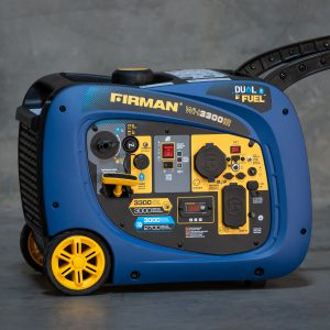 WH03042 Dual Fuel Firman Generator