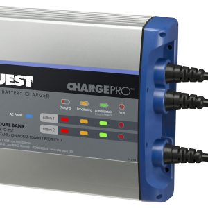 Guest On-Board Battery Charger 10A / 12V; 2 Bank; 120V Input