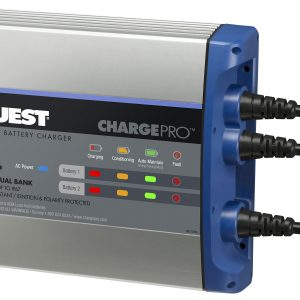 Guest On-Board Battery Charger 8A / 12V; 2 Bank; 120V Input
