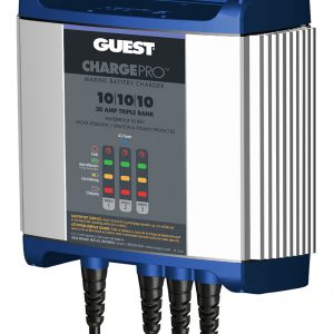Guest On-Board Battery Charger 30A / 12V; 3 Bank; 120V Input