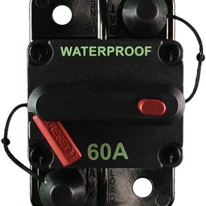 PICO 60 AMP Type III Manual Reset Circuit Breaker