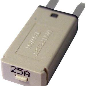 25A TYPE III Manual Reset Circuit Breaker